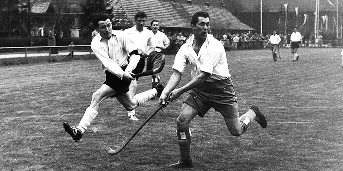 1965 | Arthur Heil mit vollem Einsatz.