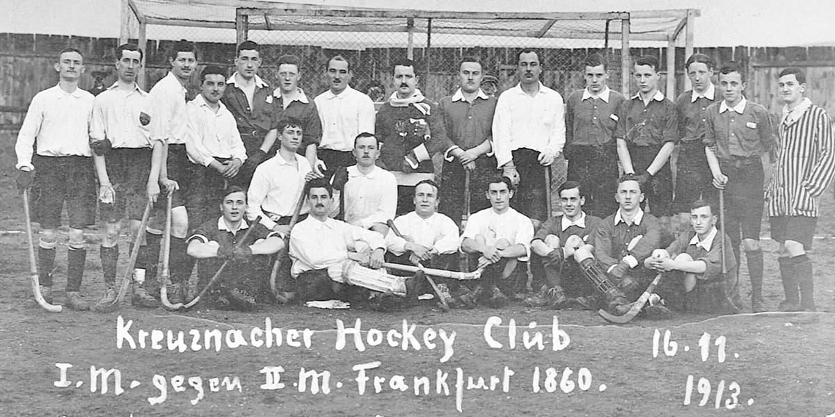 16.11.1913 | Erstes Spiel der KHC Herren gegen Frankfurt 1860.