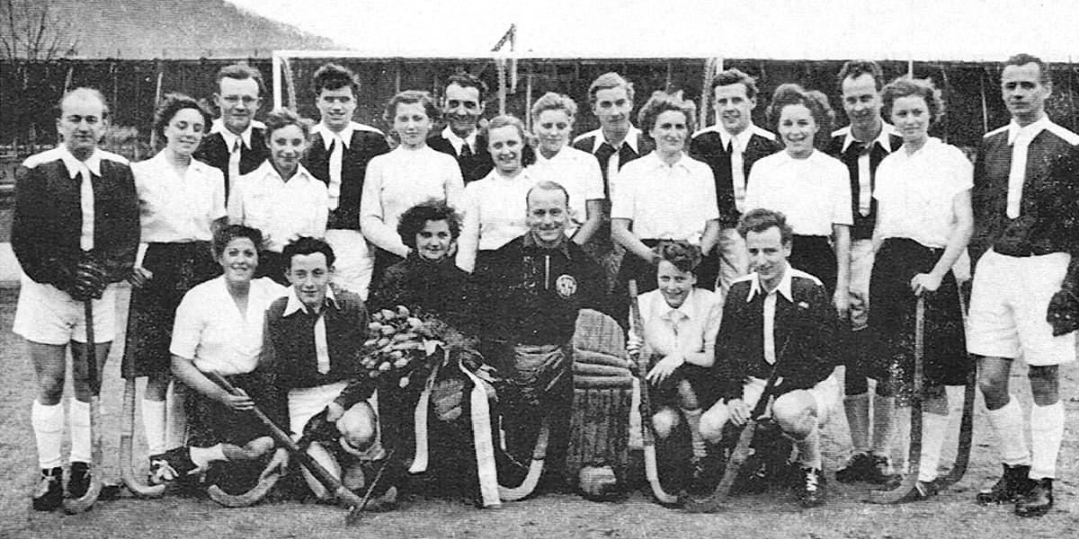 05.05.1951 | Doppelerfolg für den KHC. Herren und Damen beenden die Saison 1950/1951 als Rheinland-Pfalz Meister.
