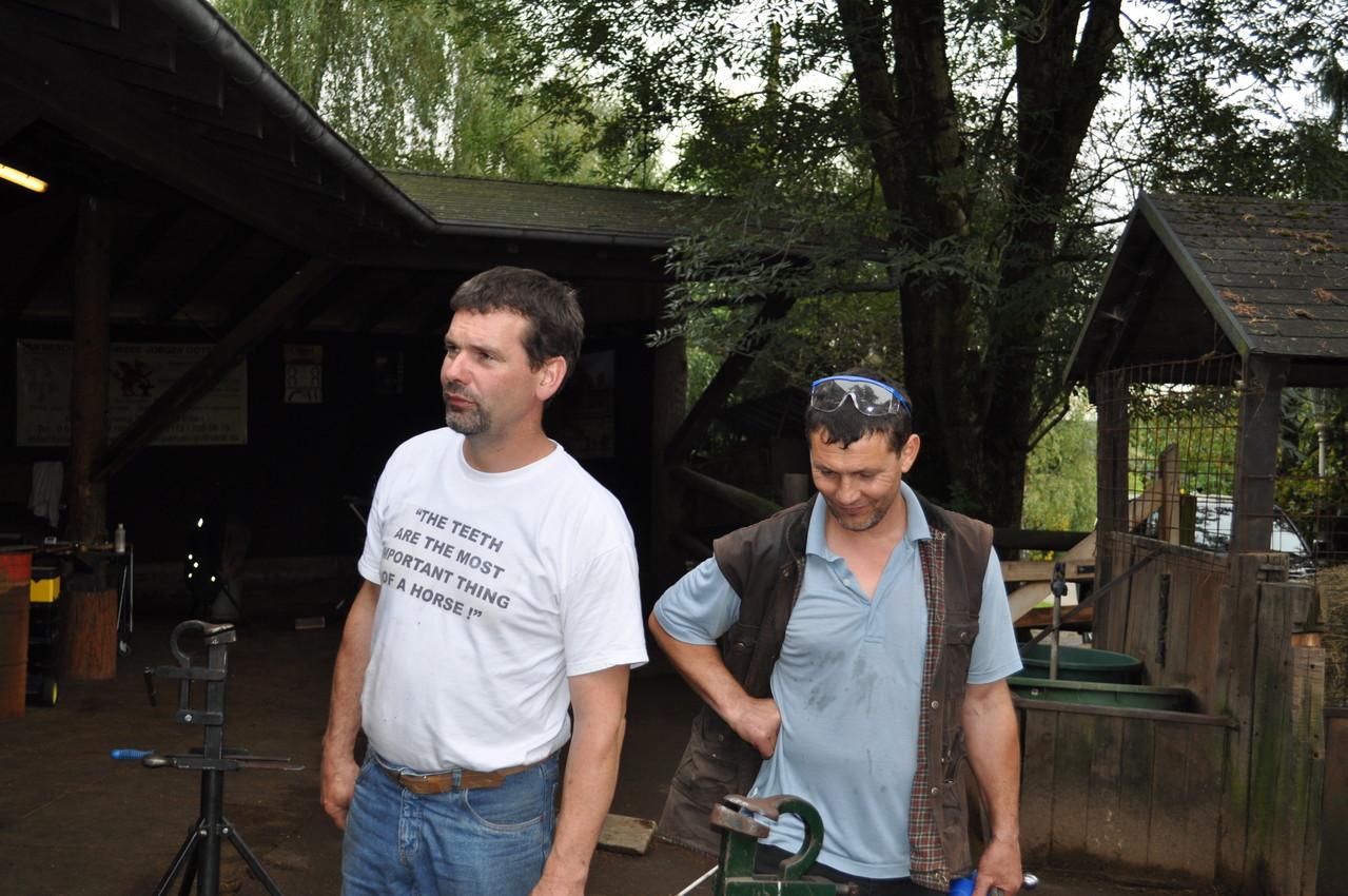 Jürgen und Oleg Sidenko