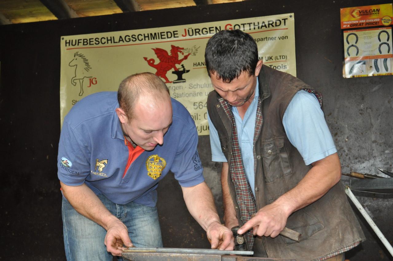 Steven Beane und  Oleg Sidenko