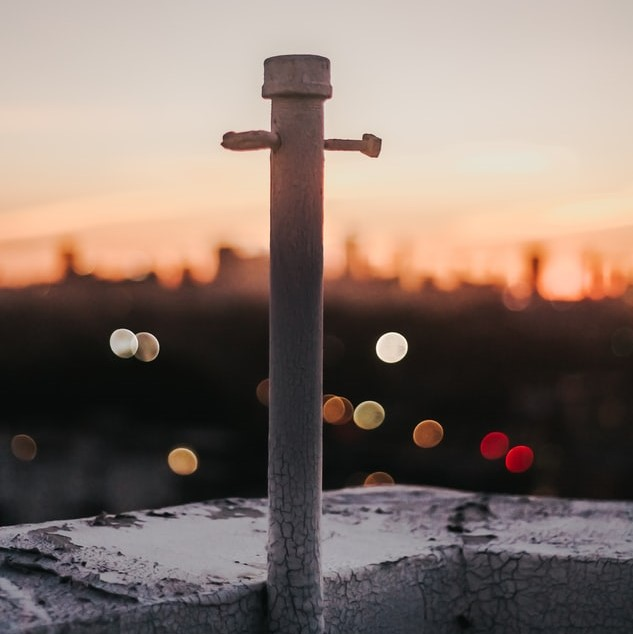 屋上アルミ柵土台の防水補修工事