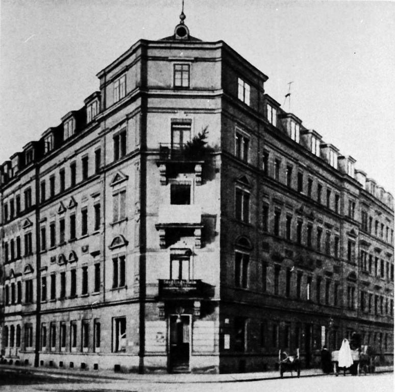 Kinderpoliklinik mit Säuglingsheim in der Johannstadt (Arnoldstr.)