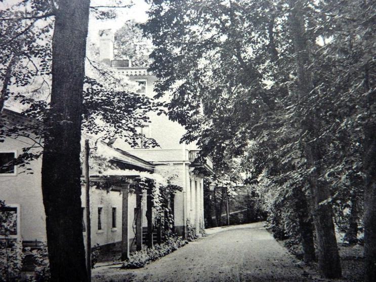 Lingnerschloss Schweizer-Haus 1912