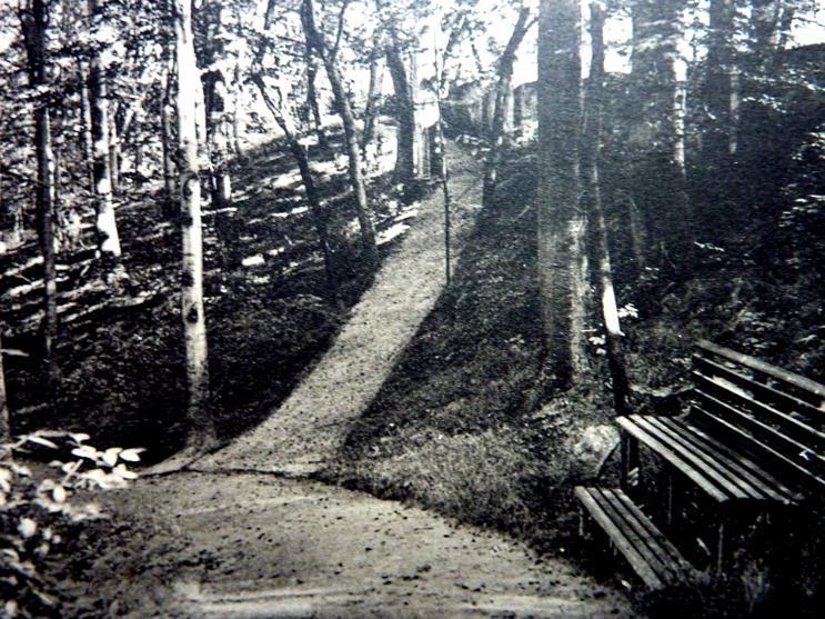 Lingnerschloss Park 1912