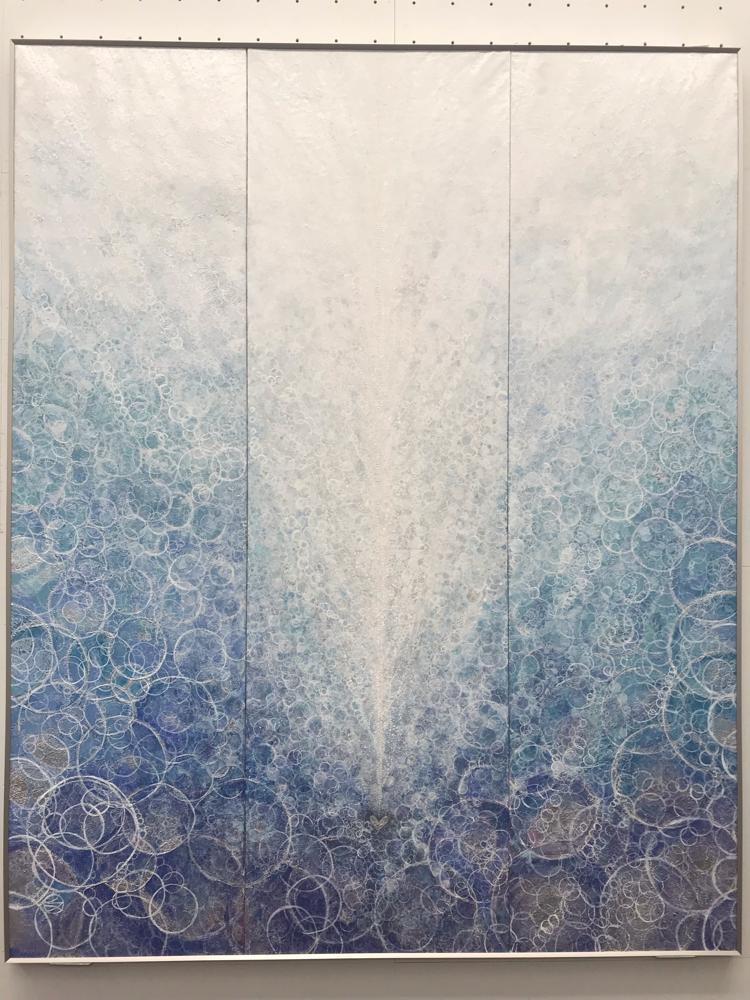 ロバウトクラウダー賞「water」F150号