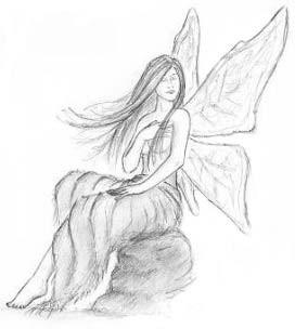 dessin fée