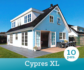 Bungalow Cypres XL in Noordwijk