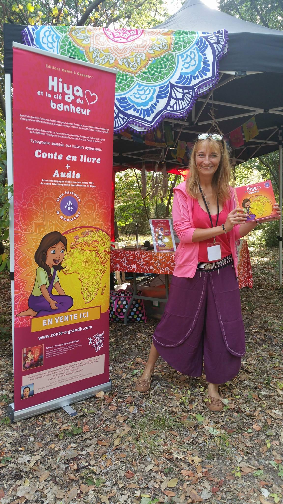 Conte Hiya et la clé du bonheur, méditation, sophrologie, ho'oponopono pour enfants