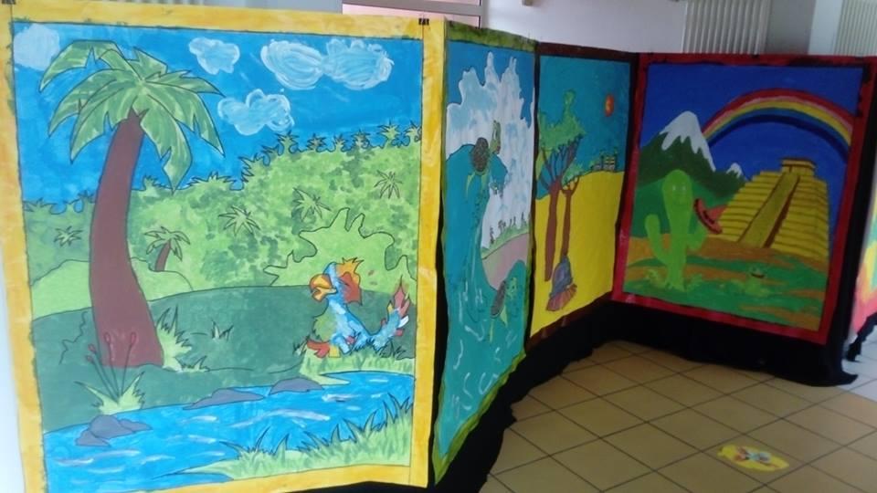 conte du monde Hiya et la cle du bonheur école, centre de loisirs, aérés