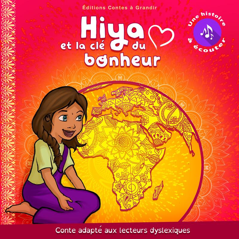 Livre enfant audio dyslexique Hiya et la clé du bonheur