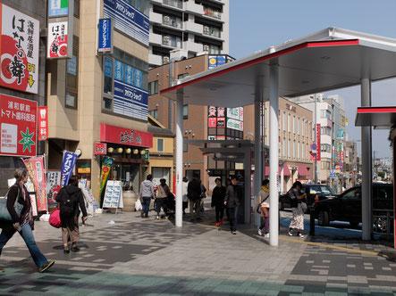 さいたま市(埼玉県)の浦和のヘッドスパ専門店への経路2
