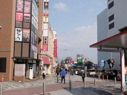 さいたま市(埼玉県)の浦和のヘッドスパ専門店への経路3