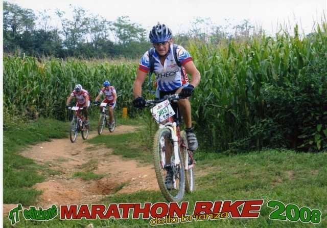 Fabio alla Maraton Bike della Brianza