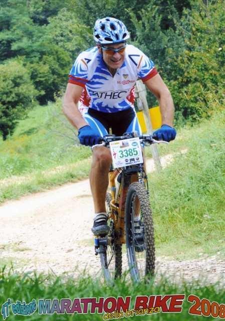 Marco alla Maraton Bike della Brianza