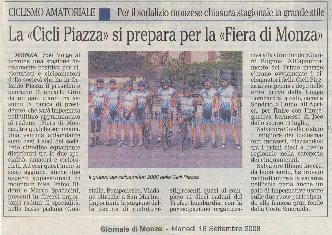 Giornale di Monza del 16-Set-2008
