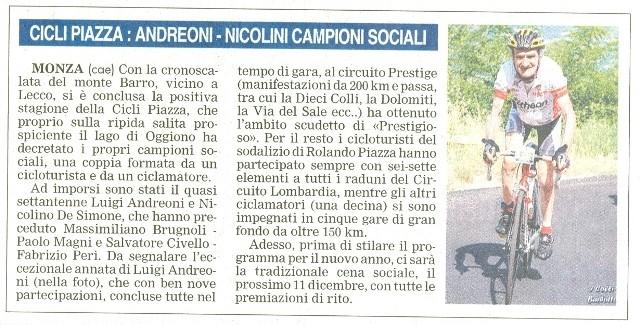 Giornale di Monza del 03-Nov-2009