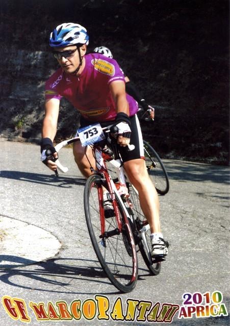 Andrea alla Pantani