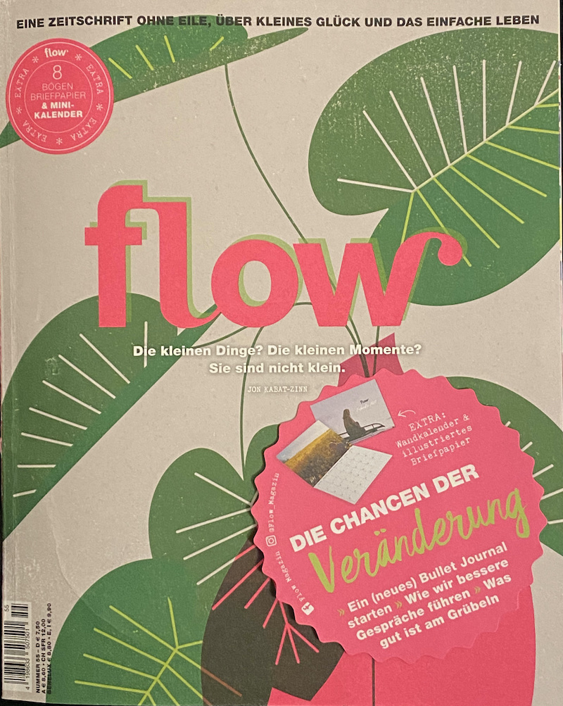 """Beitrag im Magazin """"flow"""""""