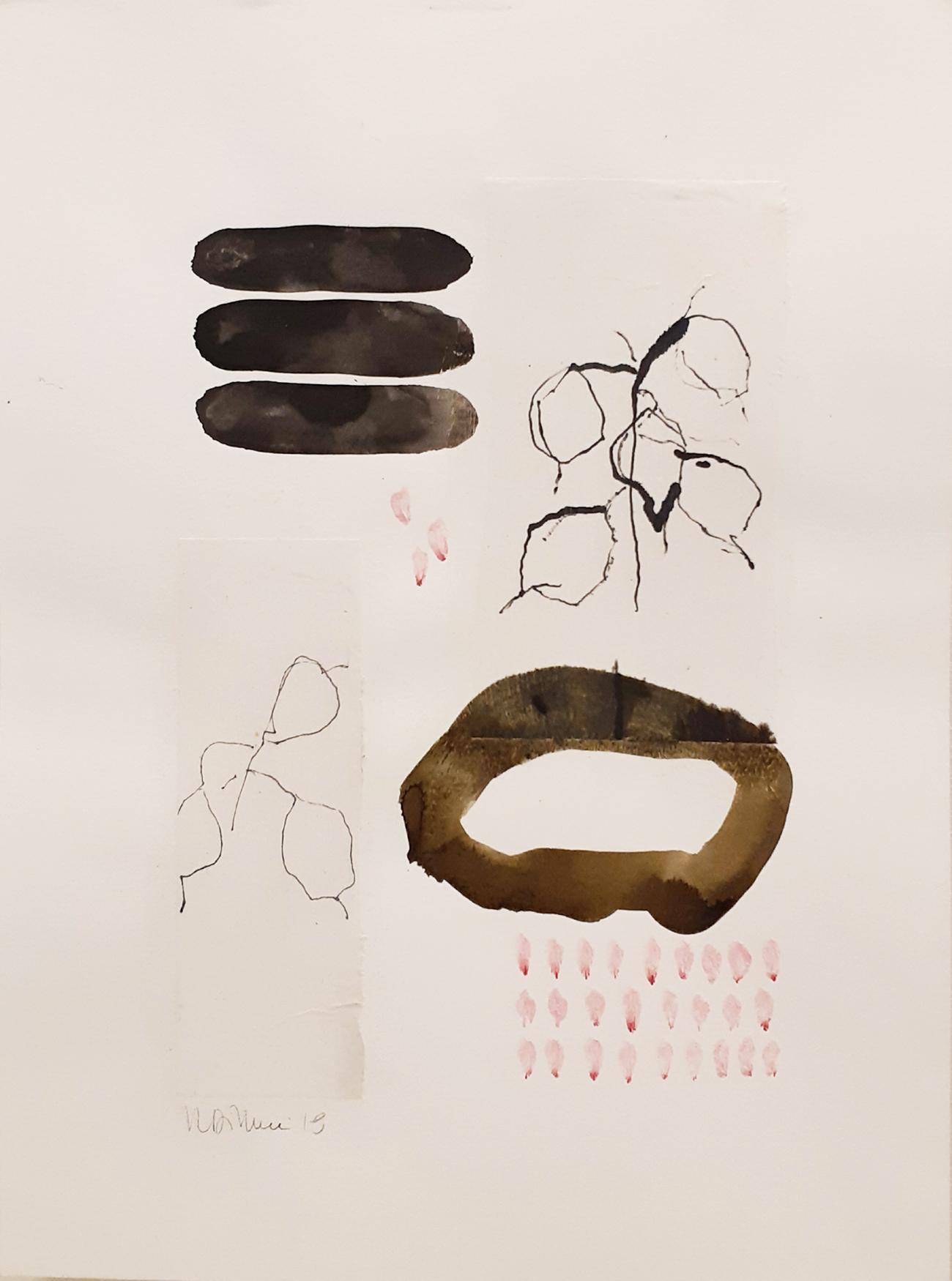 SOLD_Mixed media auf Papier / on paper  30 x 40 cm