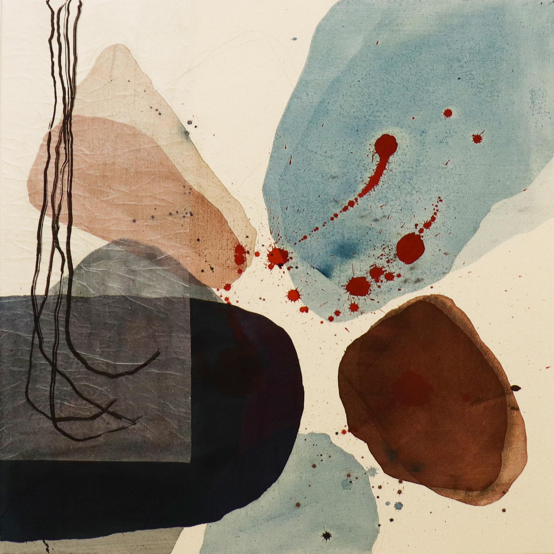 """Series """"Plants"""" - Tusche auf Leinwand / ink on canvas - 90 x 90 cm"""