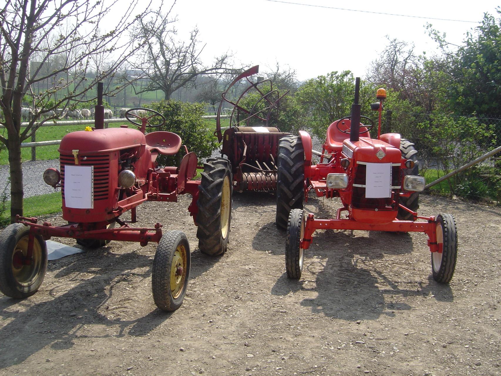 Exposition de vieux matériel agricole