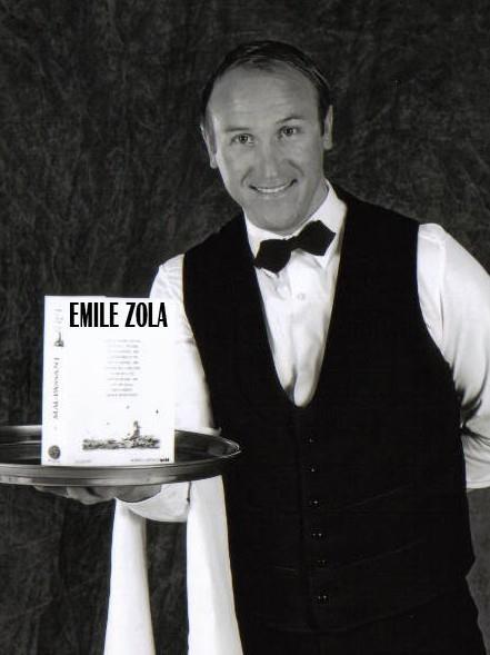 Anatole nous donne aussi des nouvelles d'Emile Zola