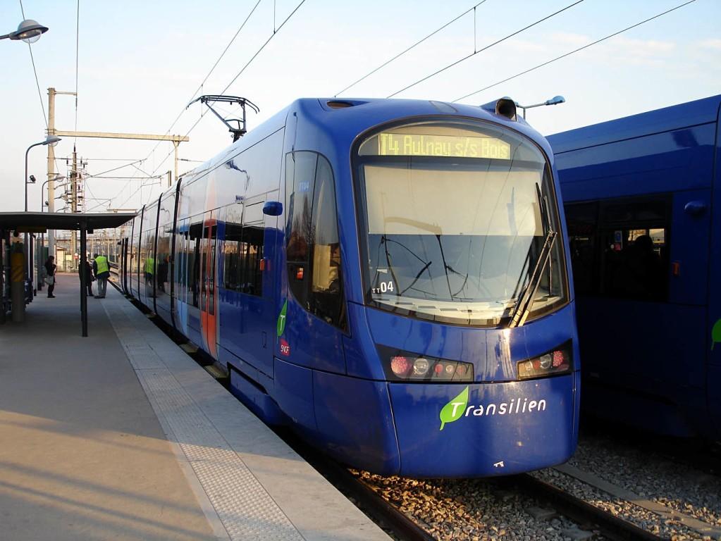 Tram-train dela Seine- St Denis (Aulnay-sous-Bois - Bondy)