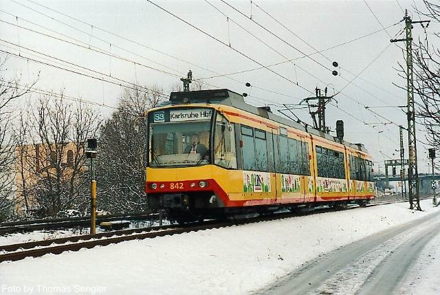 Tram-train de Karlsruhe