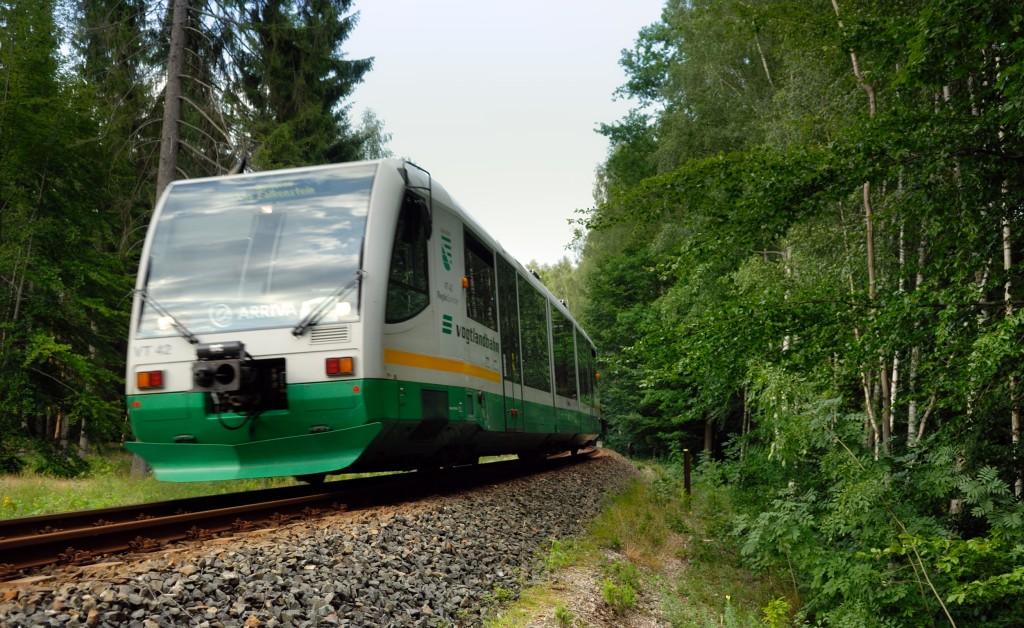 Tram-train transfrontalier de Zwickau (Saxe)
