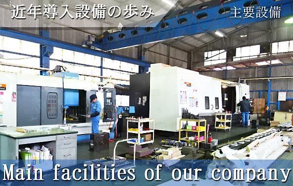 藤田鉄工株式会社の近年の主要設備