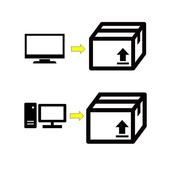 秋田 貸倉庫 トランクルーム使い方色々 ~テレビ・PC等の空き箱~