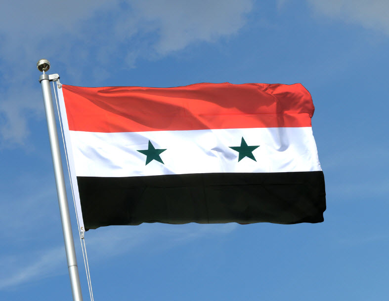 Syrien - Copyright by Flaggenplatz.de