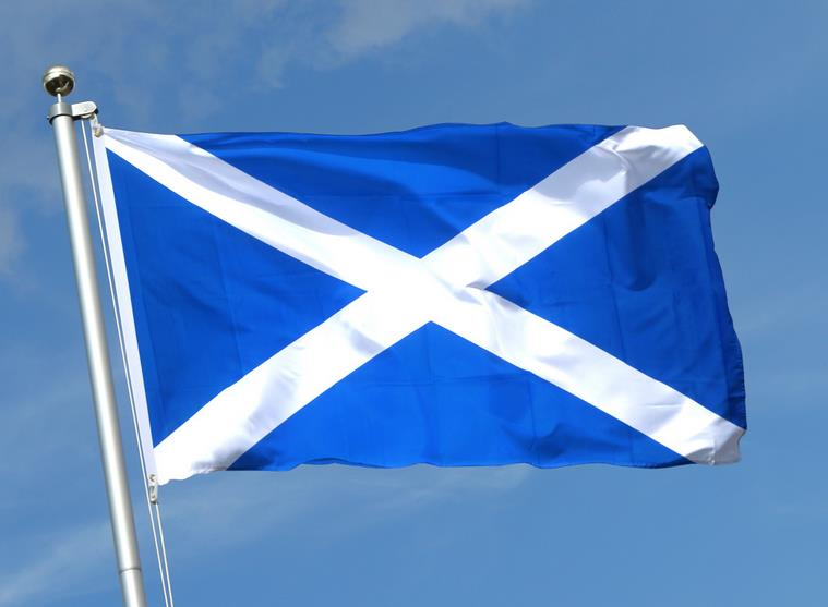 Schottland. Copyright by Flaggenplatz.de