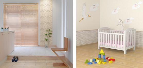 玄関内床「アレルピュア エントランスフロア」、屋内壁「アレルピュア ウォール」施工例