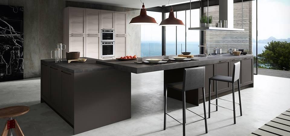 Cucina contemporanea archidea interni e design for Cucina moderna contemporanea