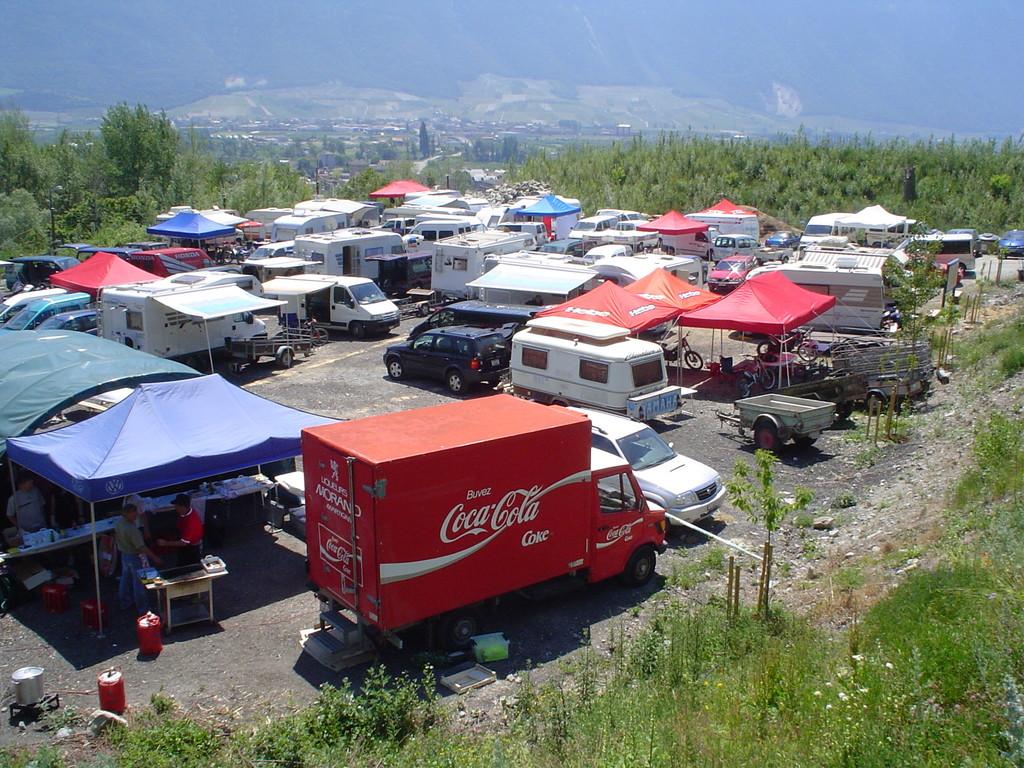 Championnat suisse 2006, parc coureurs
