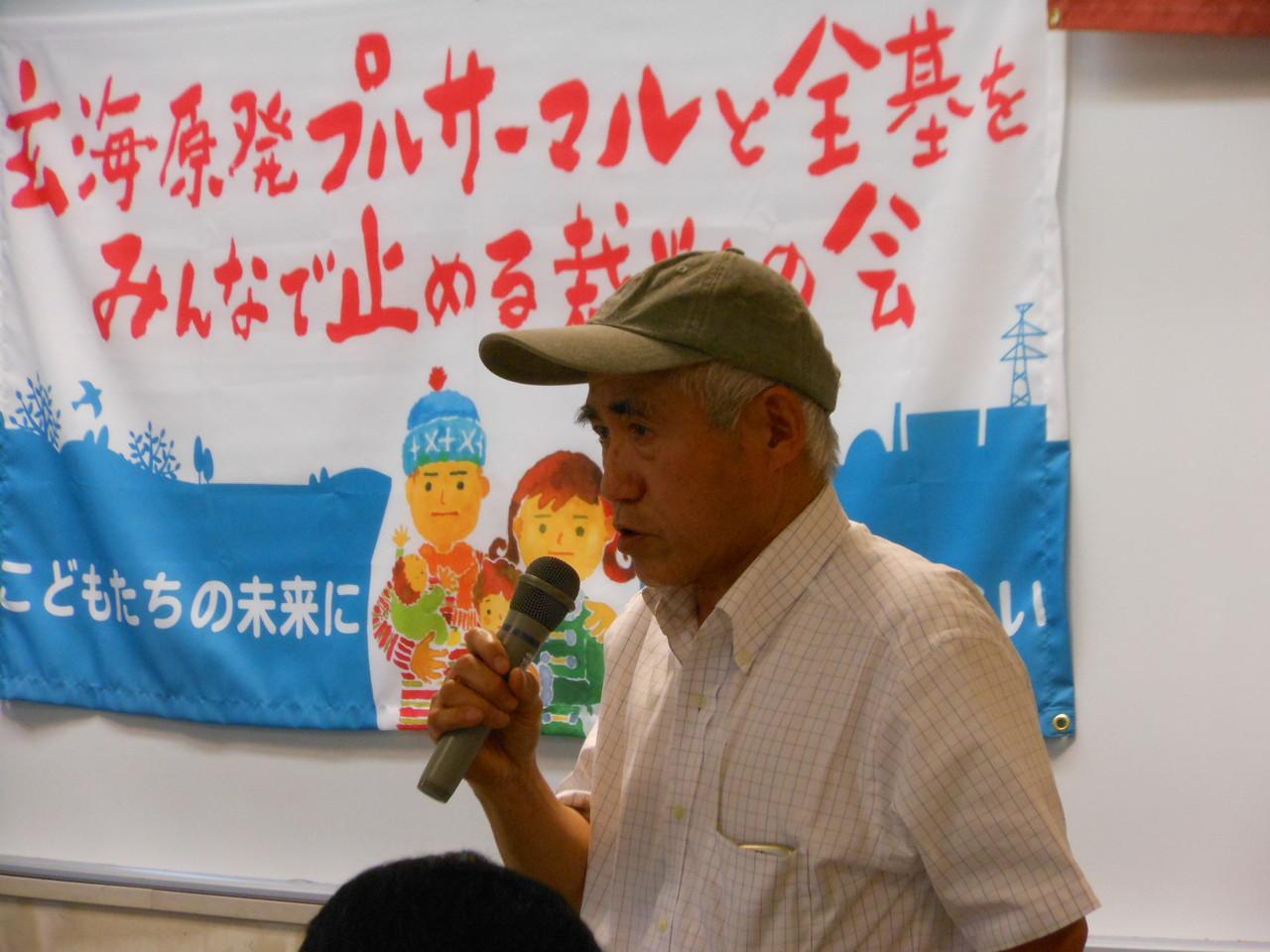支える会会長の澤山保太郎さん