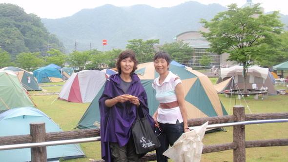 2012.6.29 大飯原発再稼働反対テント村にて