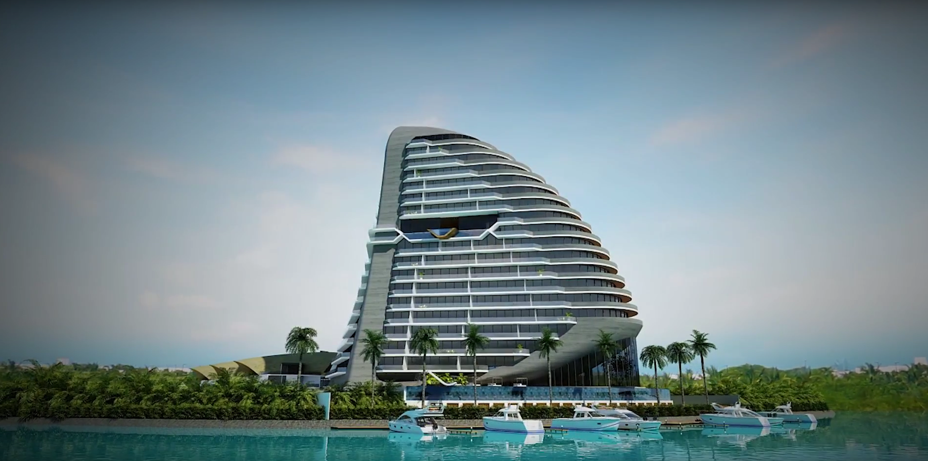 Shark Tower, Puerto Cancún, Q. Roo