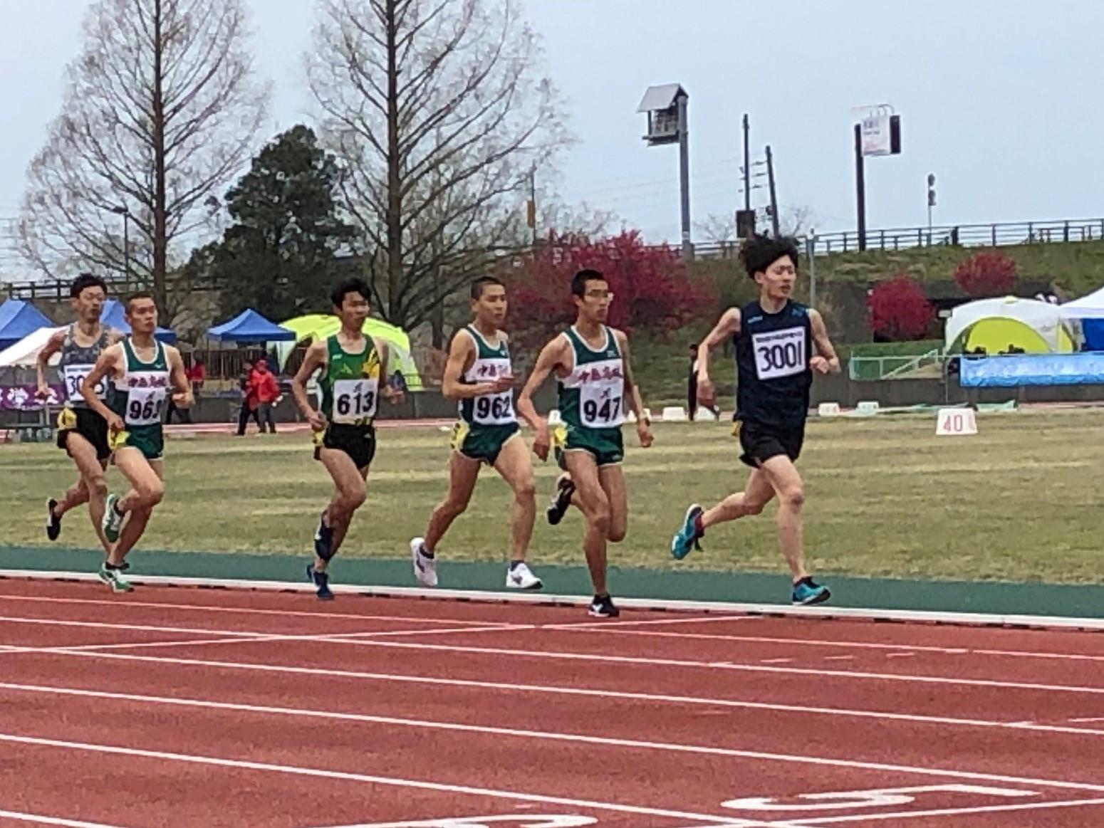 2019.4.21  一般男子  5000m