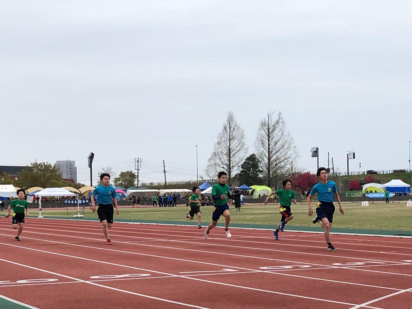 2019.4.21 小学生男子 100m