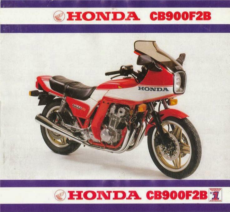 Tamiya 14007 - CB 900 F2