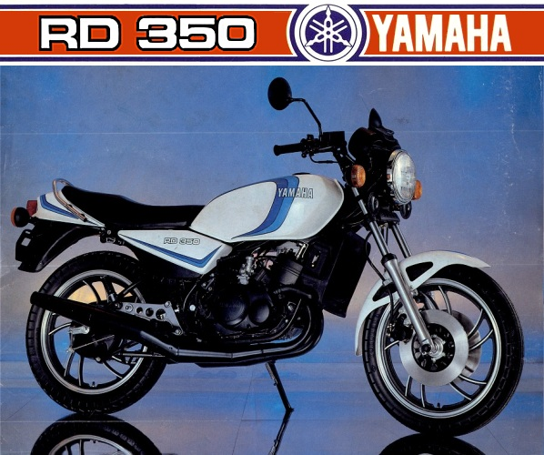 TAMIYA 14004 - YAMAHA RD/RZ 350