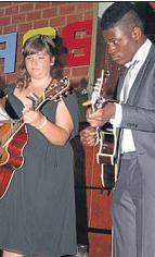 Musikalische Umrahmung: Auch die Gitarrengruppe war aktiv.