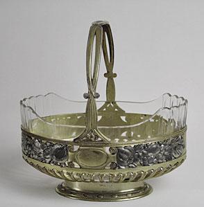 Schale Orivit mit Glaseinsatz