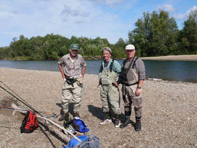 Von links nach rechts: Klaus, Günther und Marc