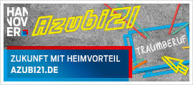 """Auf der Ausbildungsplattform """"Azubi21"""" der Region Hannover werden Schülerinnen und Schüler über sämtliche Ausbildungsberufe und Ausbildungsmöglichkeiten in der Region Hannover informiert."""