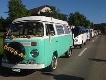 mein restaurierter VW-Bus an der Büsliparade in Sursee