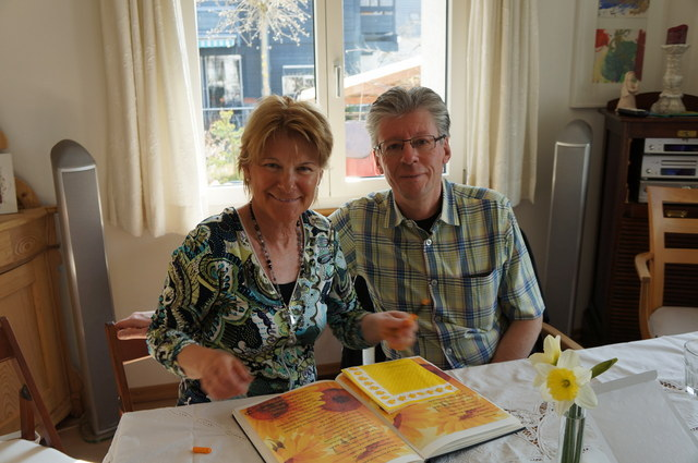 """danke Mami und Papi für das wunderschöni Gedicht und das härzigi """"Chistli"""":-)"""